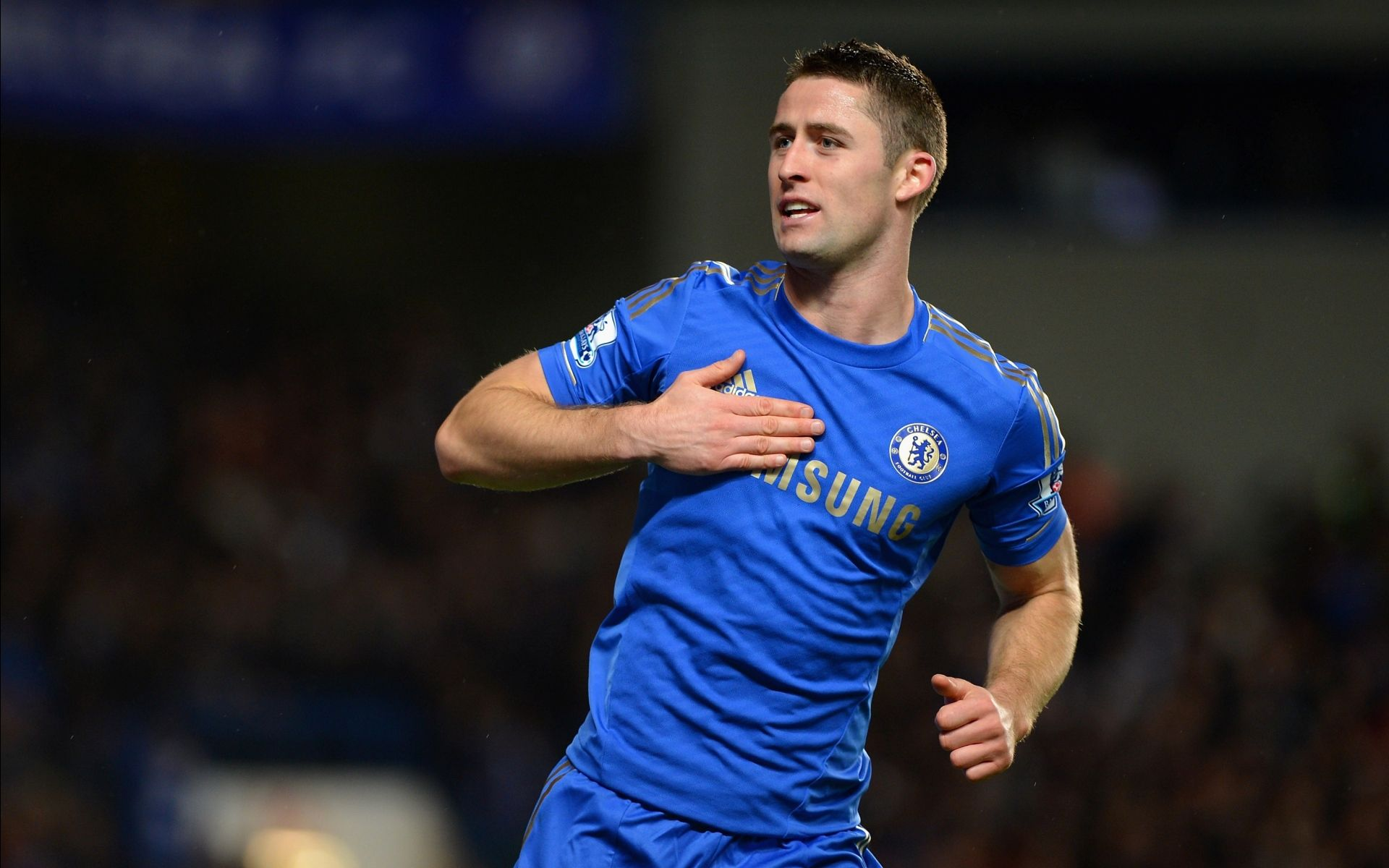 Gary Cahill in favorite outfit
