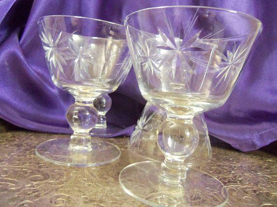 "Wine Champagne Stemmed Drinking Glasses Purple Amethyst 6/"" Excellent Choose #"