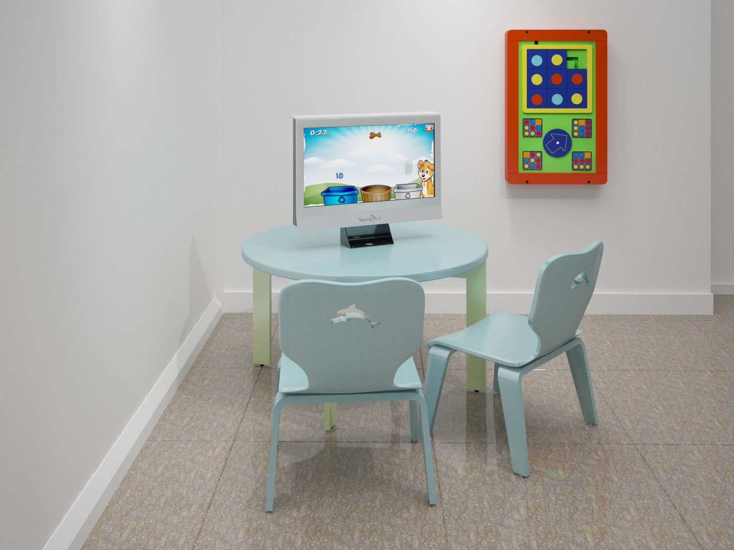 Touch2Play from Kidzpace and Plover table and chairs from TMC help ...