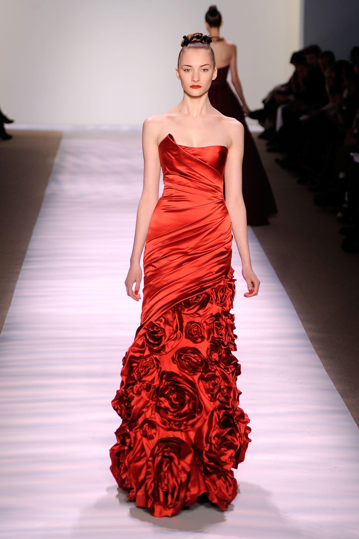 Monique Lhuillier F/W 2010 | runway couture 2010 | Pinterest