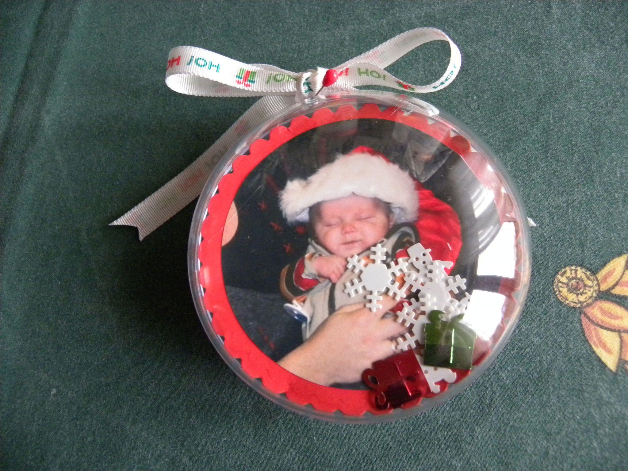 Boule De Noel Transparente A Decorer en ce qui concerne decembre_010 | bébé | pinterest | noël, bébé et déco
