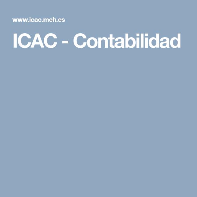 Icac Contabilidad Contabilidad Norma Tecnica Cuentos