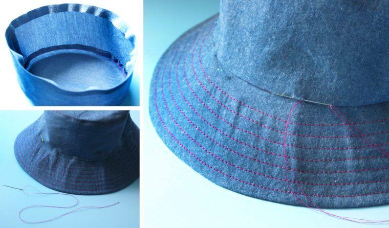 Reversible Bucket Hat Tutorial Hat Patterns To Sew Hat Tutorial Bucket Hat Tutorial