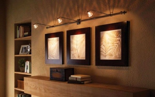 lovely wall mounted track lighting for