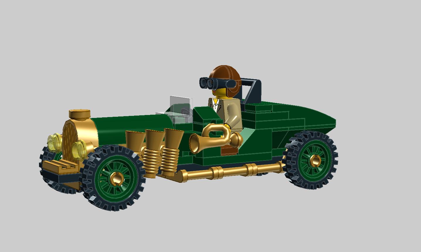 Classic Race Car Classic race cars, Race cars, Cool lego