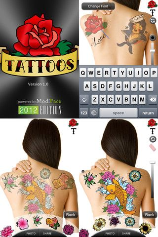 Express yourself with colorful and unique body art! Our