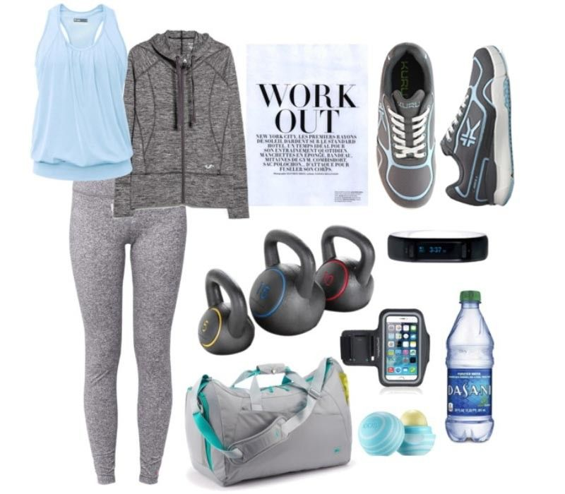 8324fd78bd Gray & Blue Exercise Outfit for summer from KURU Footwear [Carrera Slate  Gray / Misty Blue $115.97] #iheartkuru Carrera - Women's High Performance  Runner ...
