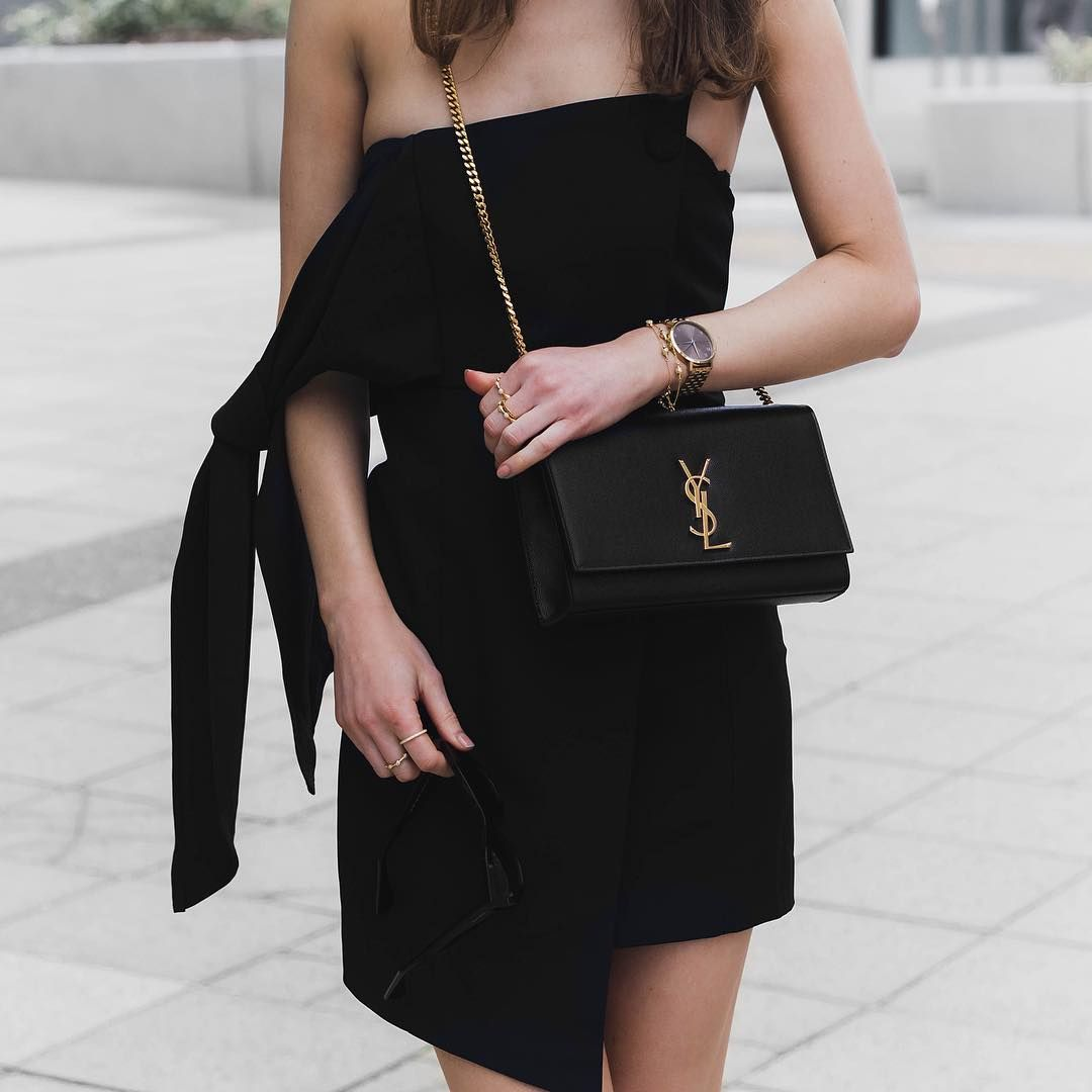 46132f02 Instagram: @fromluxewithlove / YSL Bag / blogger street style ...
