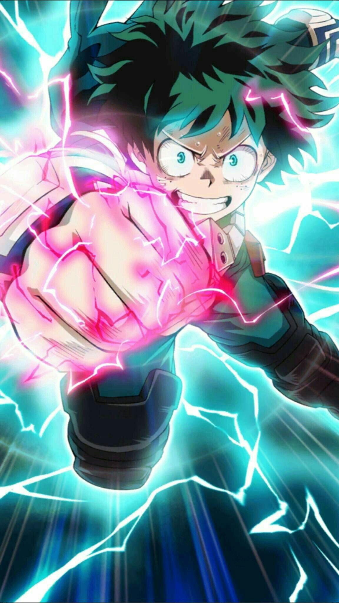 Midoriya My Hero Academia Hero Wallpaper Anime Wallpaper Anime