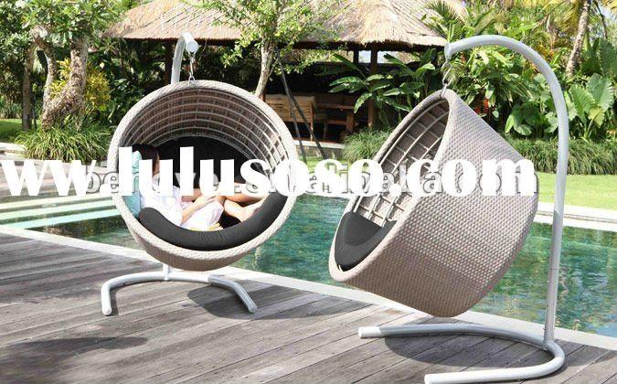 Lawn Swings | Outdoor Rattan Hanging Patio Swing Chair