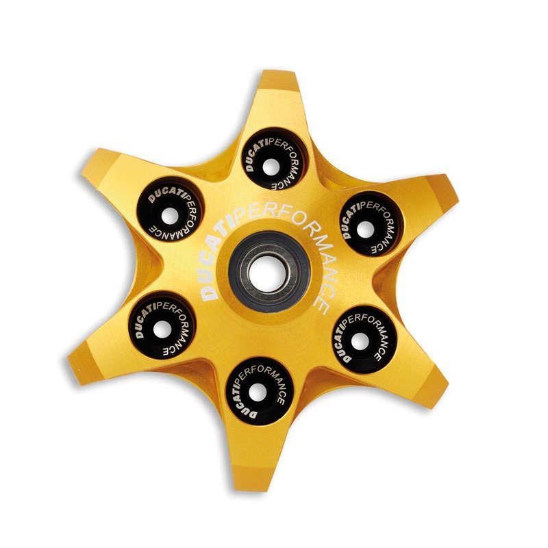 Ducati Radial Clutch Pressure Plate - Gold