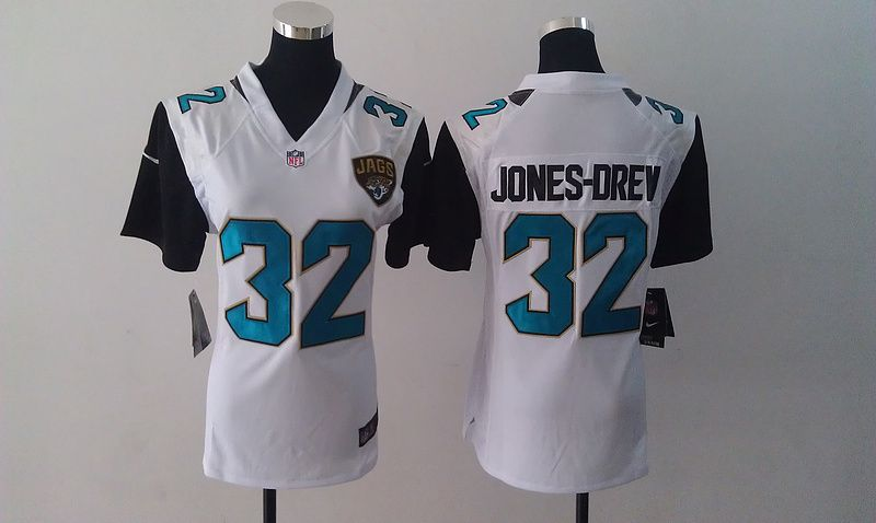 ... Stitched Nike NFL Jacksonville Jaguars 32 Maurice Jones-Drew White  Women Jersey 22.99 ... c098e4ff2