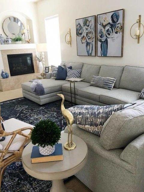 Wohnzimmer Wanddekor um tv # LivingRoomWallDécorTips #livingroomfurniture #livingroom