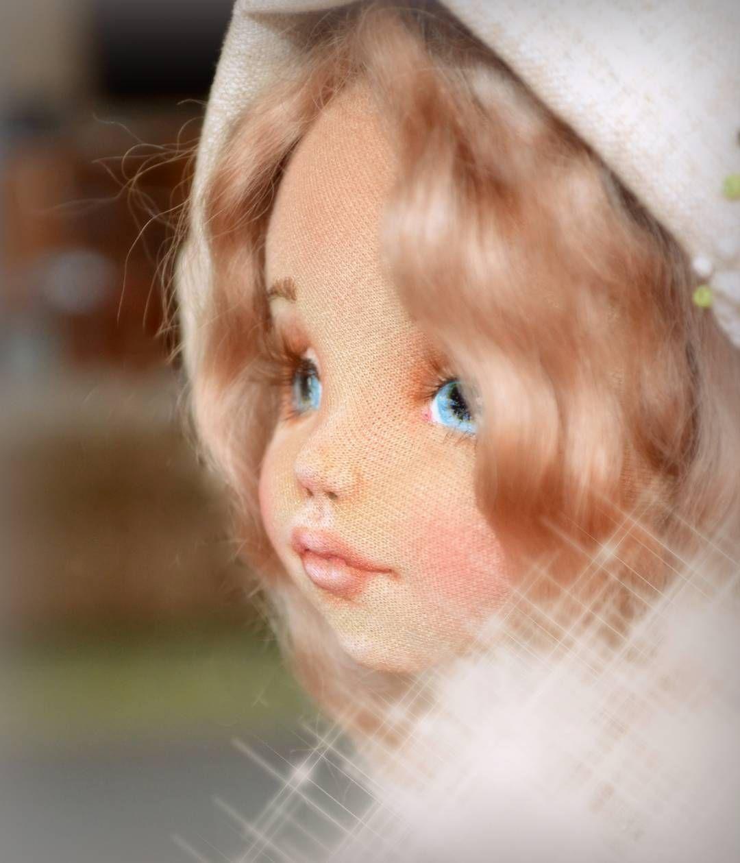 Начало новой кукольной жизни у меня - голова  А у вас товарищи кукольники, с чего начинается кукла? Интересно же  поделитесь!  #процессы #рукоделие #кукла #творчество