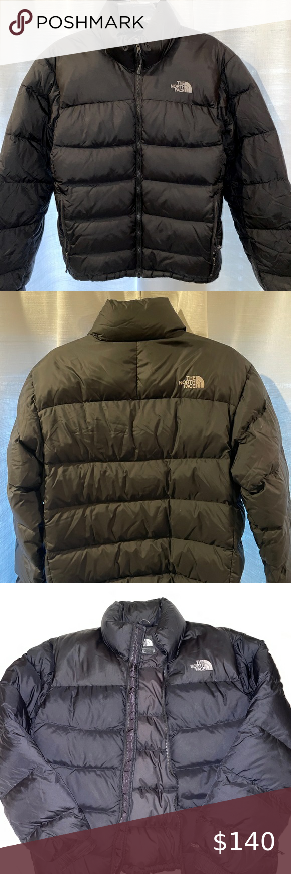 Northface Men S 700 Black Puffer Jacket Small Black Puffer Jacket North Face Jacket Mens Black Puffer [ 1740 x 580 Pixel ]
