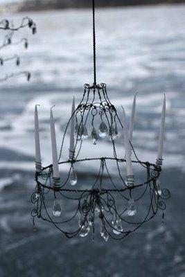 Diy Wire Chandelier Form WIRING INFO