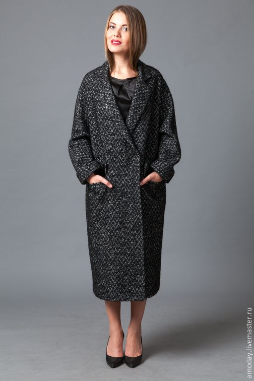 b25a50816f6 Stylish gray coat