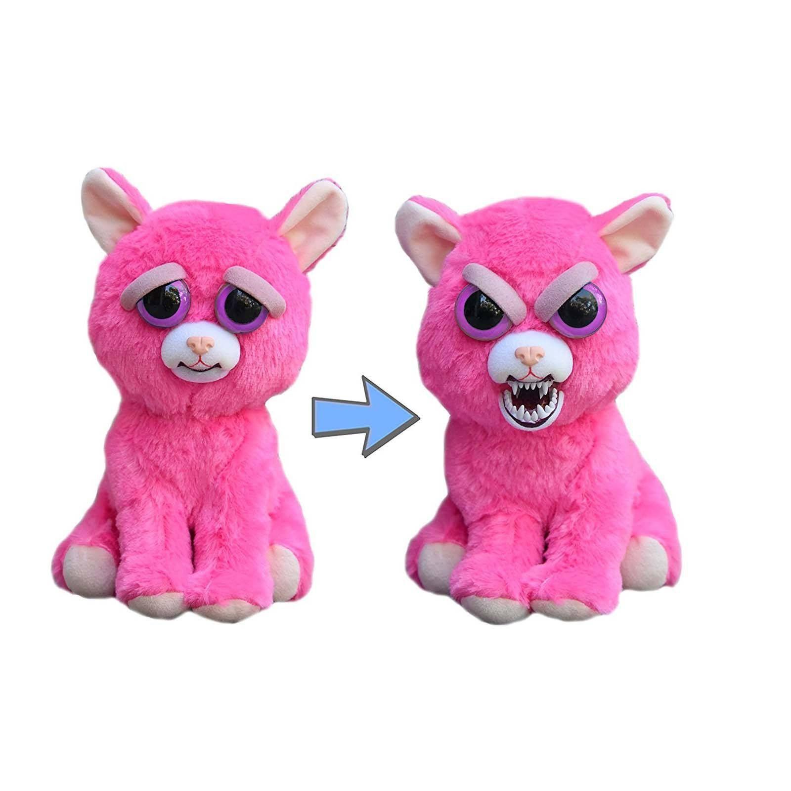 Feisty Pets Lady Monstertruck The Pink Cat Plush Figure Cat