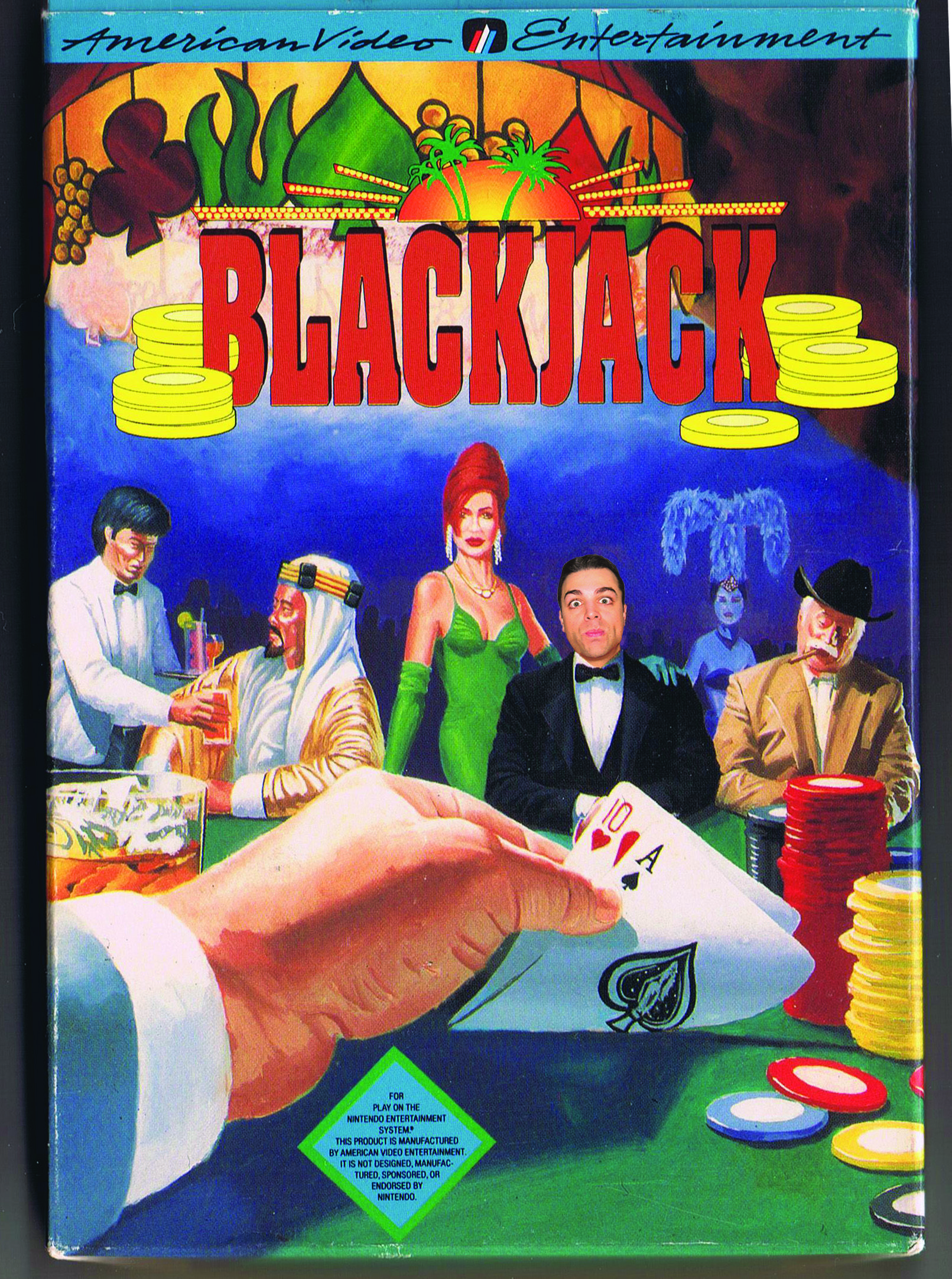 BLACKJACK Not much not to like. The game deals you