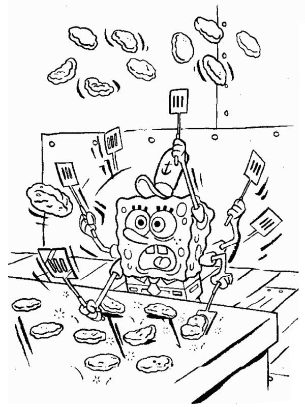 Krusty Krab Coloring Pages Pics