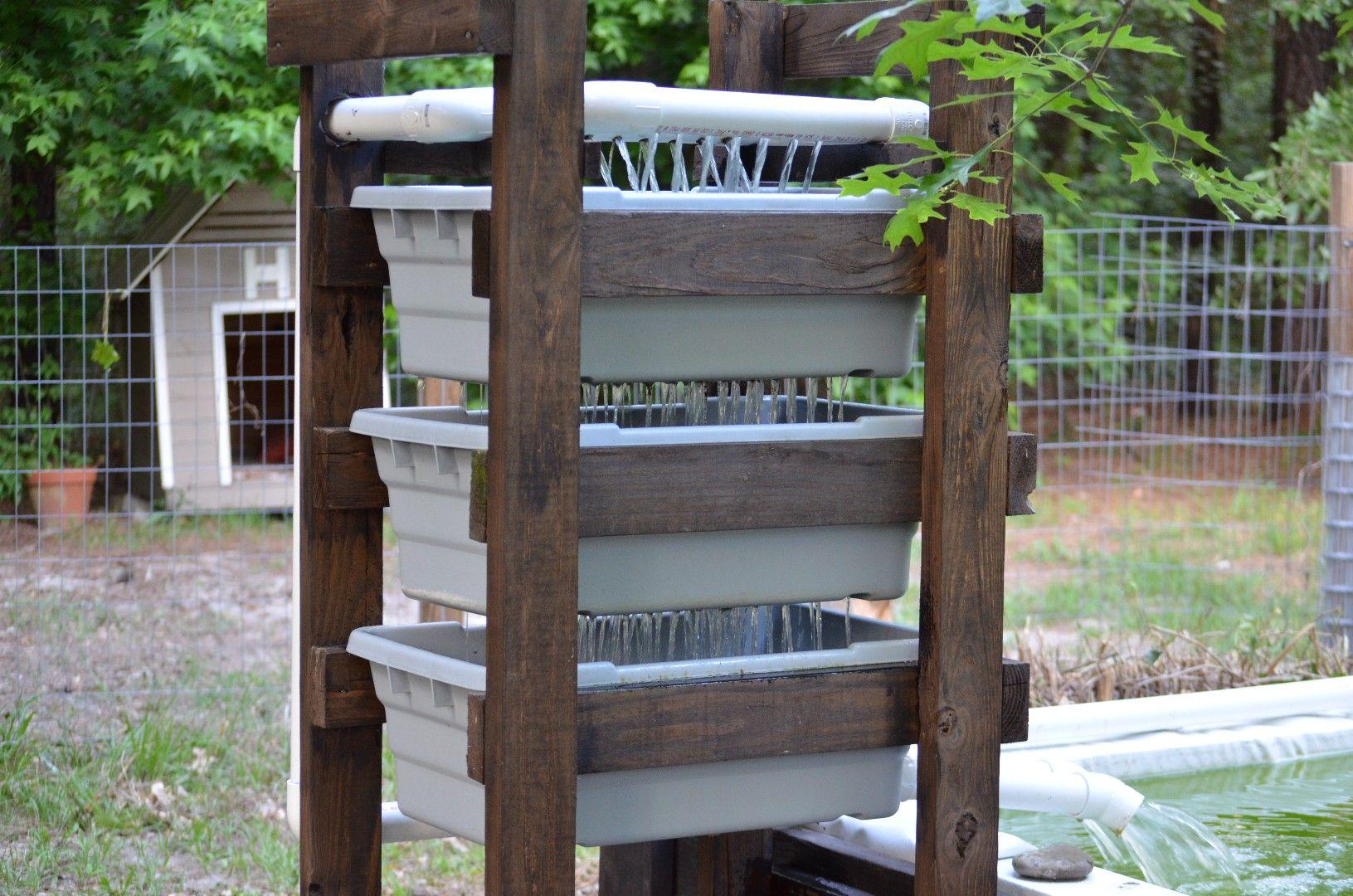Building a bakki shower diy trickle filter diy shower