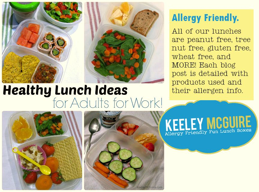allergy friendly healthy packed lunch ideas for adults for work recipes pinterest healthy. Black Bedroom Furniture Sets. Home Design Ideas