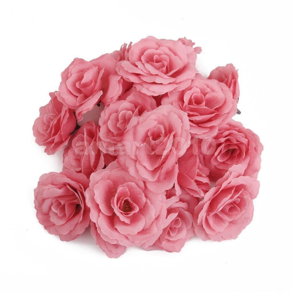 27 gbp 20x artificial rose silk flower heads bulk home wedding 246 gbp 20x artificial rose silk flower heads bulk home wedding party decor mightylinksfo