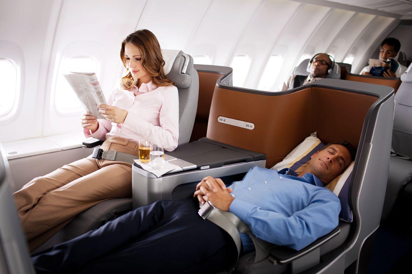 Lufthansa Tunisie Business class, Business, Airline