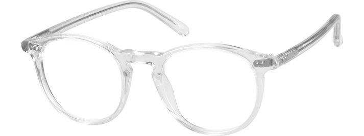 433df31577 Translucent Round Glasses  4422423