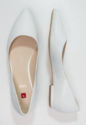 on sale ac31c 61a0d Högl - Ballerina - weiß | schuhe | Brautschuhe, Ballerina ...