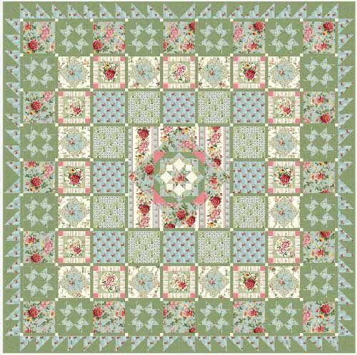 Liven up your Mailbox with a Stunning Quilt | Sampler quilts ... : fons and porter free quilt patterns - Adamdwight.com