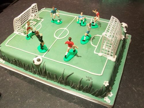 Football Cake Ideas Uk With Images Football Pitch Cake