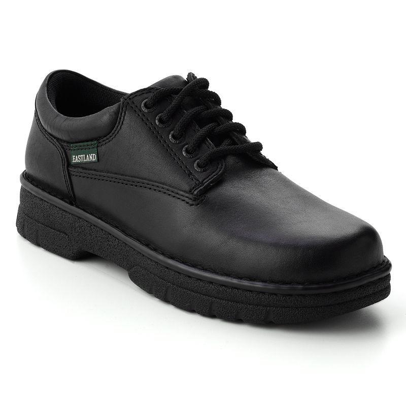 Eastland Plainview Men's Oxford Shoes, Size: 14 Wide, Black