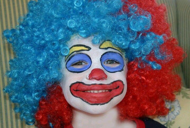 Un maquillage de clown #maquillage #enfant #clown #carnaval #mardigras #halloween