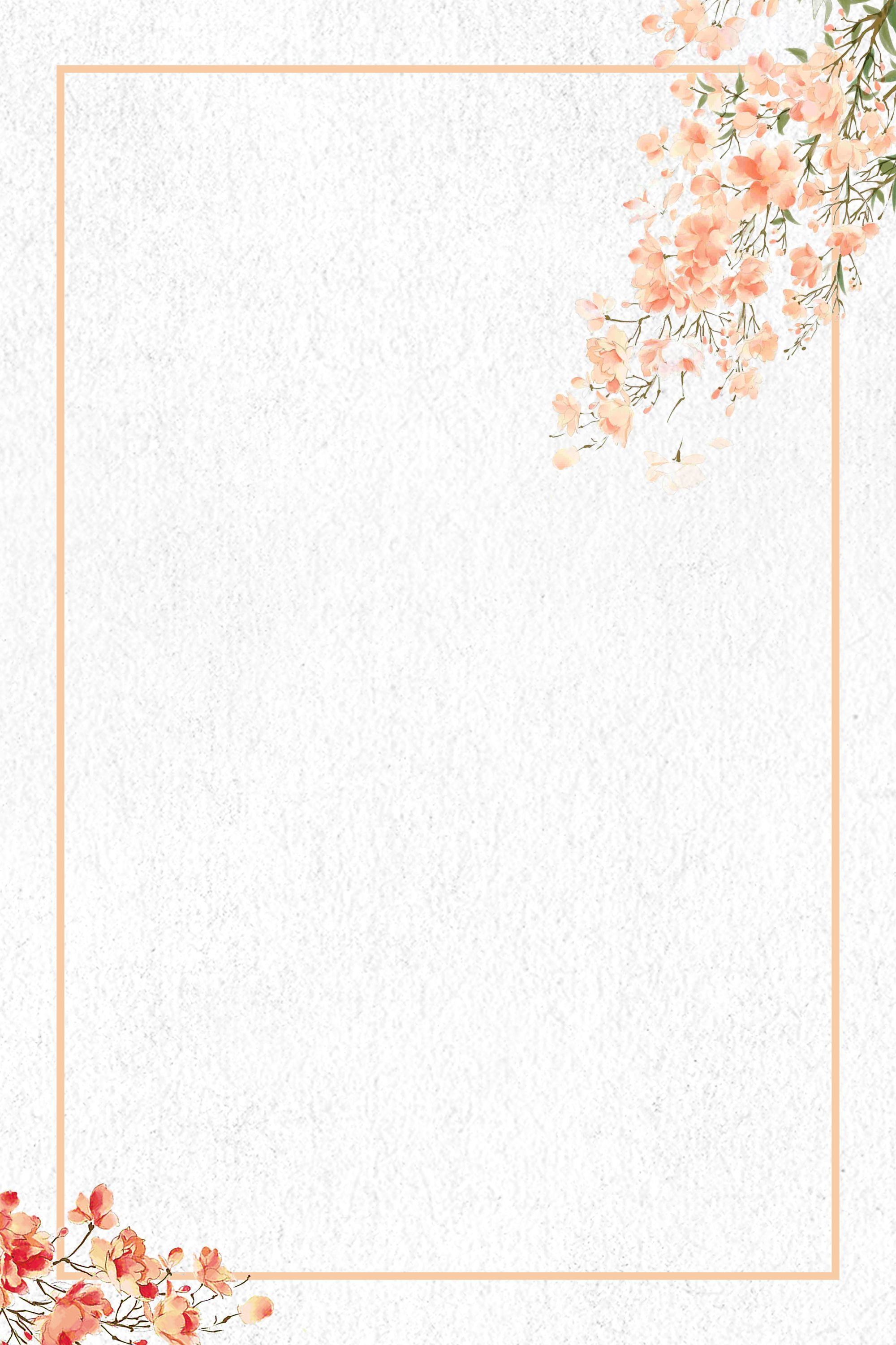 Simple Art Watercolor Flower Psd Layered Advertising Background In 2020 Watercolor Flower Background Flower Background Wallpaper Watercolor Flowers