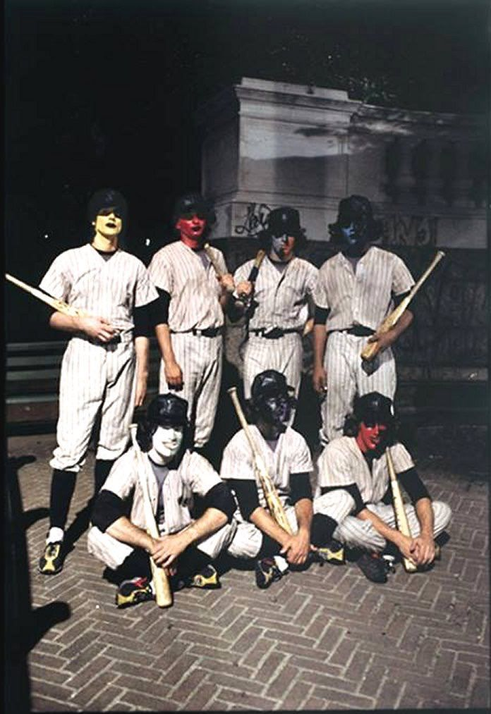 The Warriors Movie Site Production Photo Warrior Movie Warrior The Warriors Baseball Furies