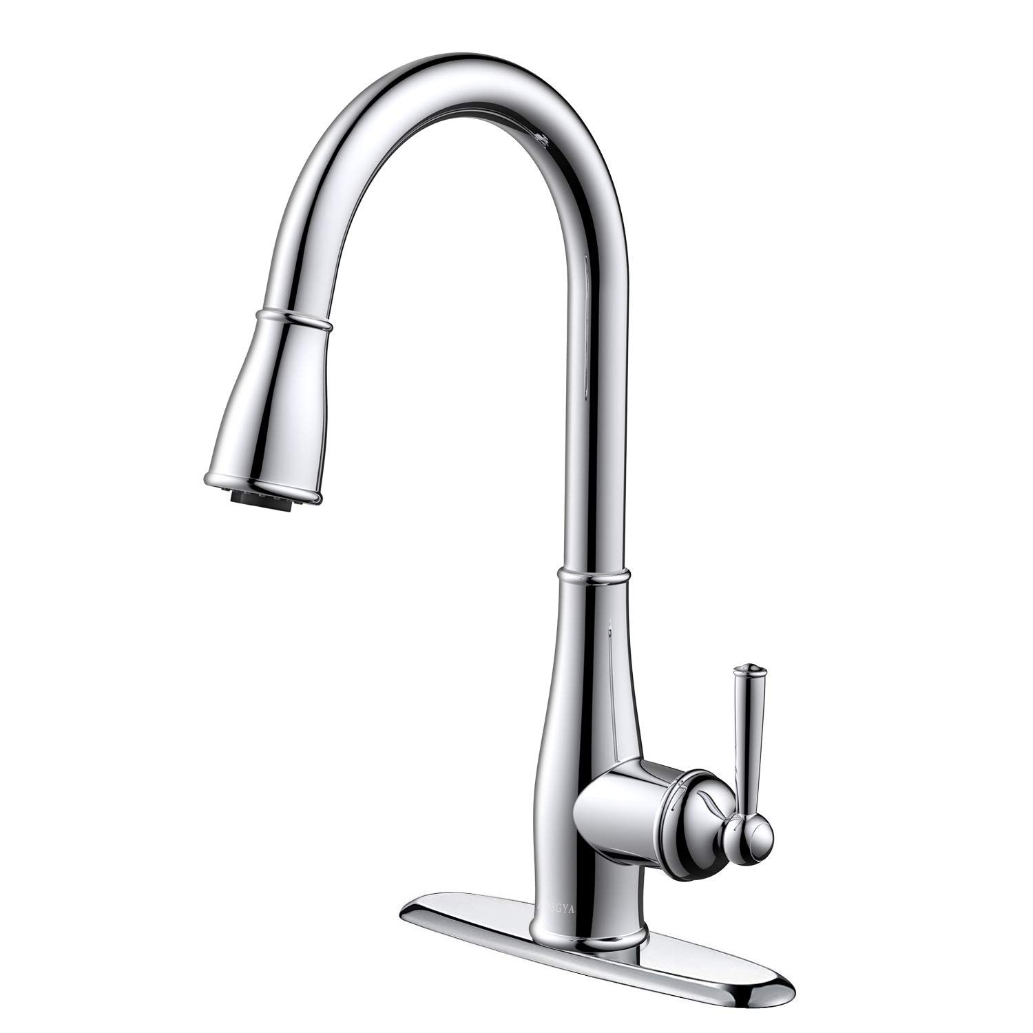 Kitchen Faucet Chrome AOSGYA Single