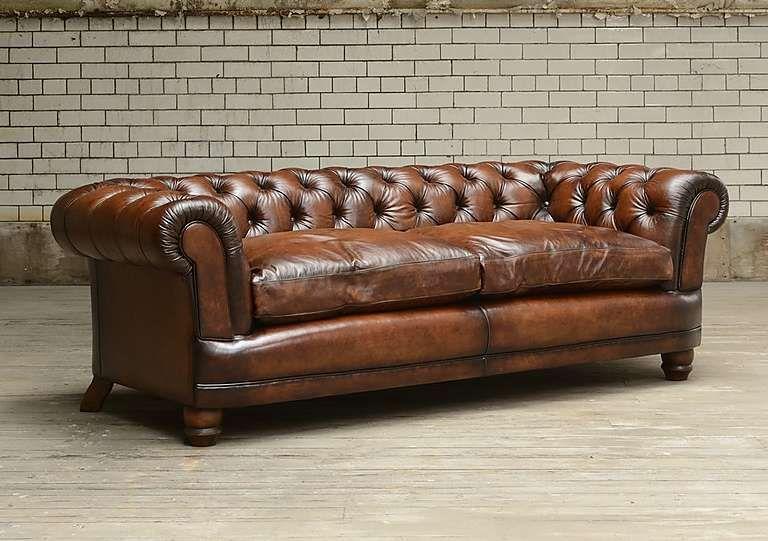 Chatsworth 4 Seater Leather Sofa