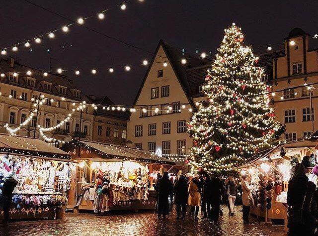 8c28d021cc9 Tallinn Christmas Market is open 🎄. Photo by @kscarol #visitestonia # visittallinn #christmas #christmastree #christmasmarket  #tallinnchristmasmarket ...
