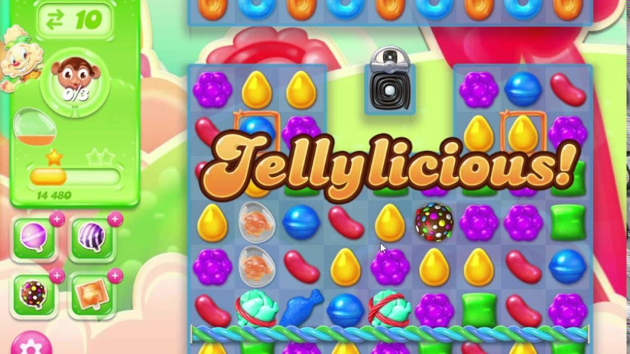Candy Crush Jelly Saga Level 276 No Booster Candy crush