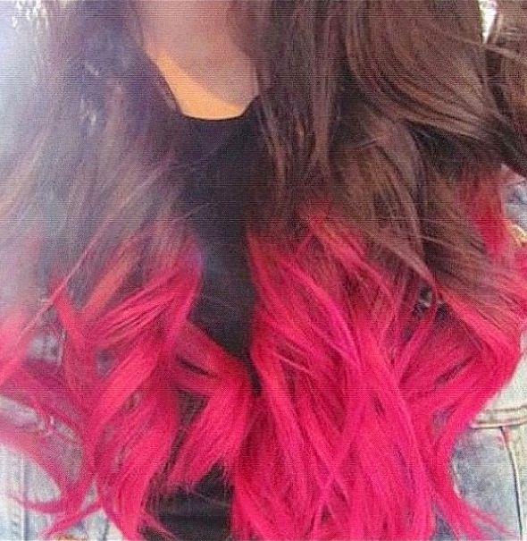 Best 25 Pink Dip Dye Ideas On Pinterest Blonde Hair
