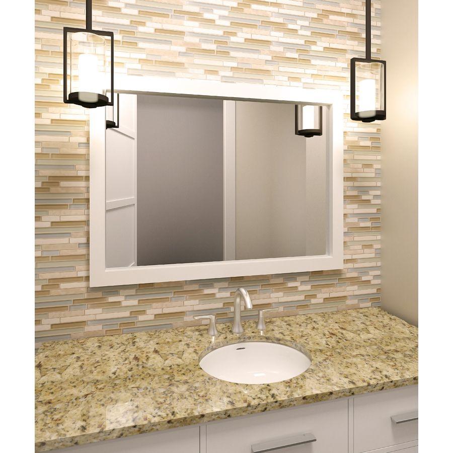 Bathroom Wall Accent Tiles For Florida Condo: Shop Elida Ceramica Dunes Falls Mixed Material Mosaic