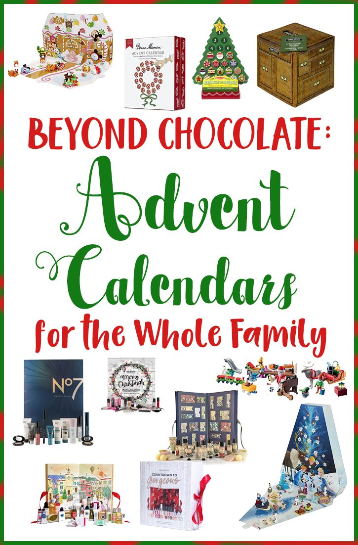 Beyond chocolate: Advent calendars for the family | Gift Guides for ...