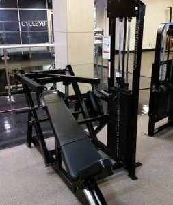 body masters md incline chest press with images  used