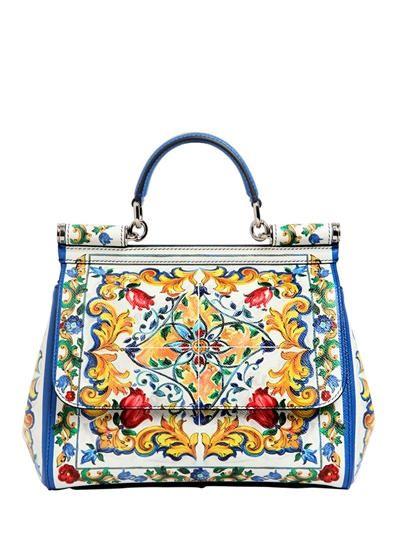 Dolce & Gabbana Sicilian Sac À Bandoulière En Céramique - Multicolore Visiter Le Nouveau En Ligne tqDBV