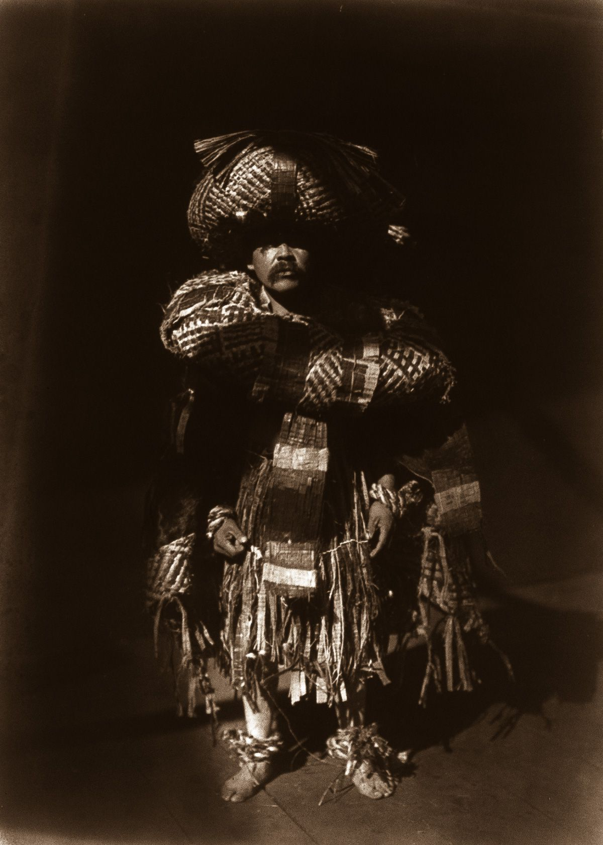 """Kwakiutl Shaman"" (1914) | Native american life, North ..."