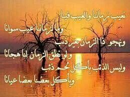 نعيب زماننا والعيب فينا وما لزماننا عيب سوانا Arabic Words Arabic Calligraphy Arabic