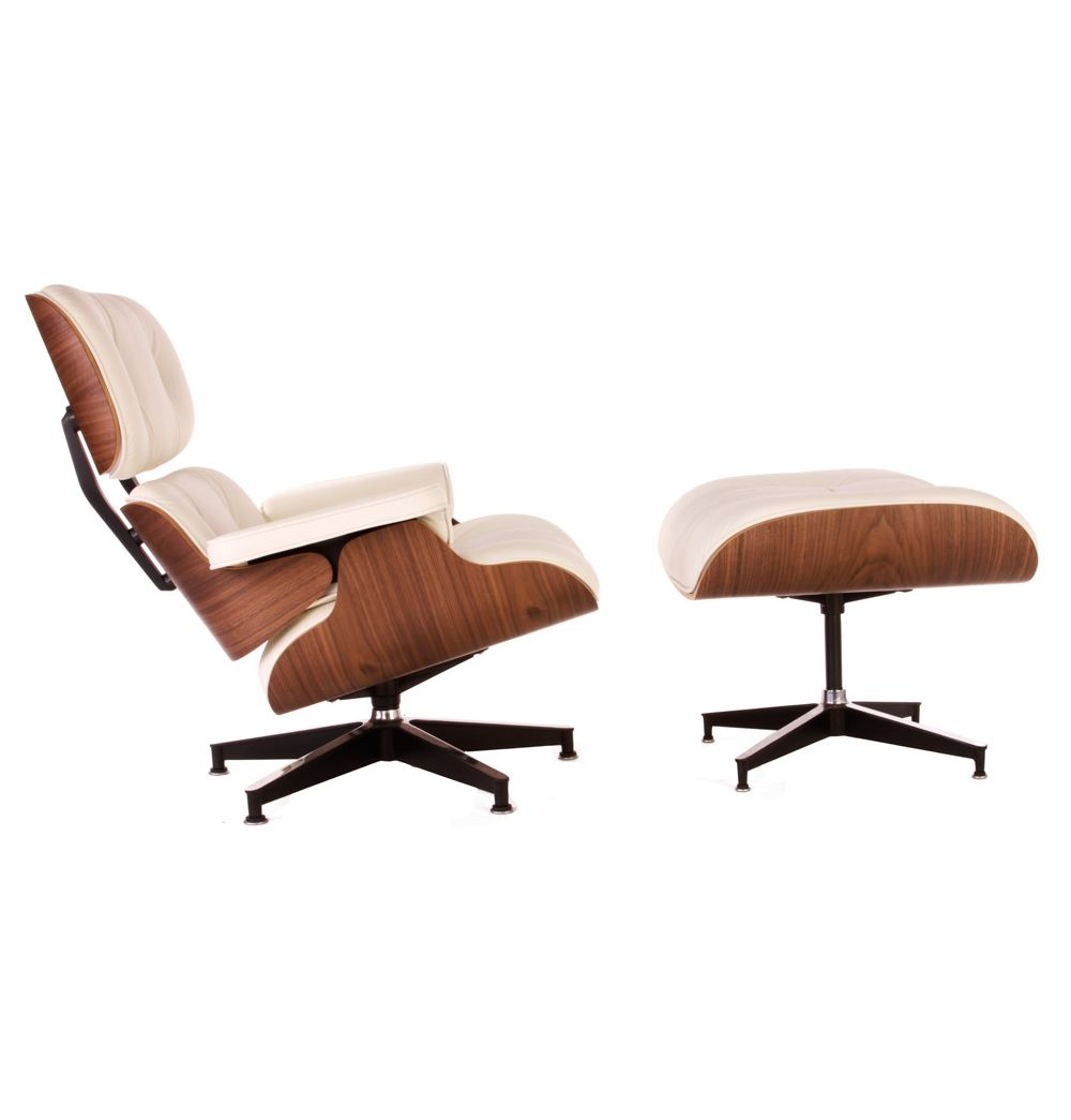 The Matt Blatt Replica Eames Lounge Chair And Ottoman   Premium Version By  Charles And Ray