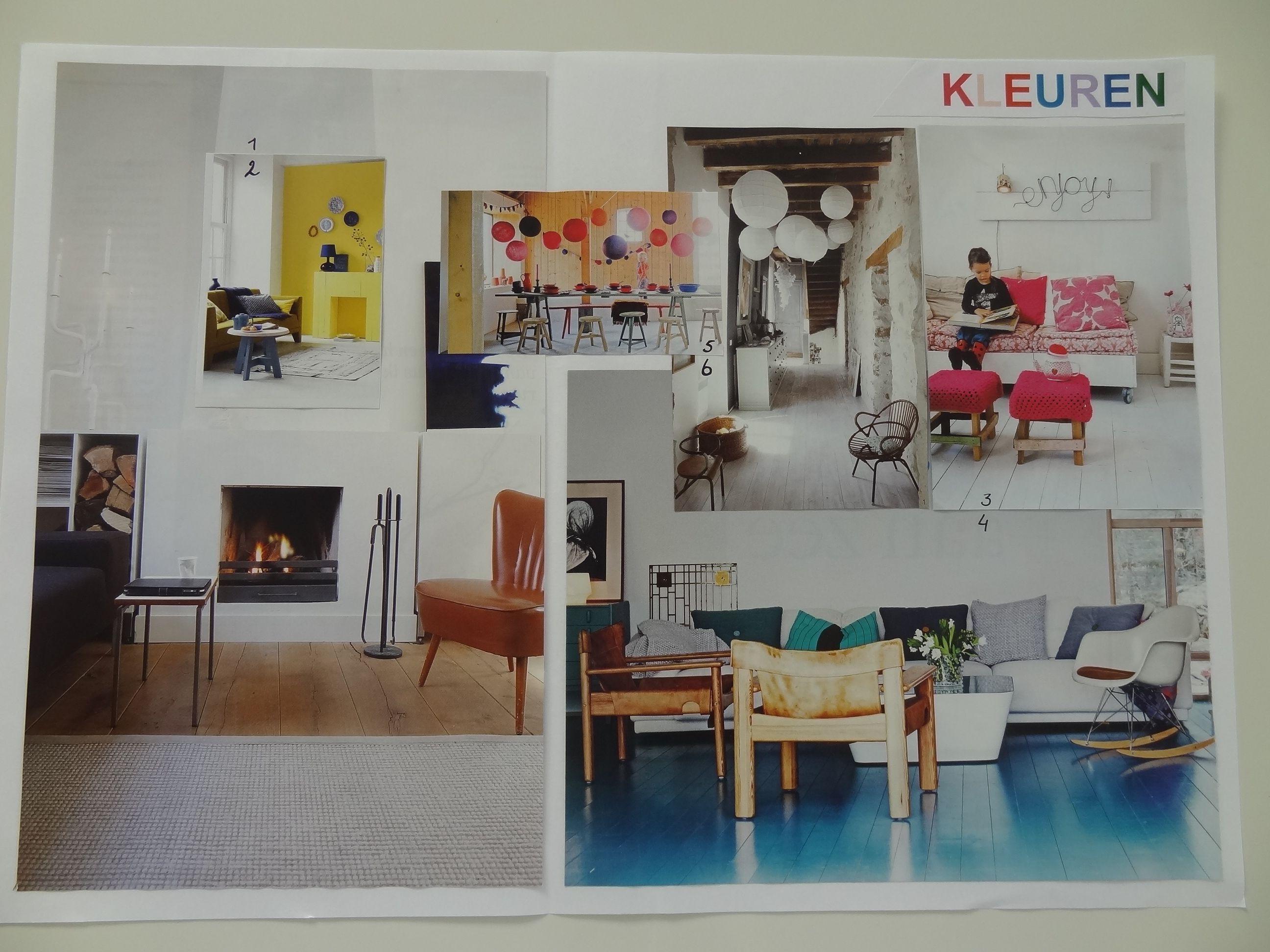 Interieur ontwerpbouwsteen kleuren praktijkopdracht 3 for Interieur kleuren