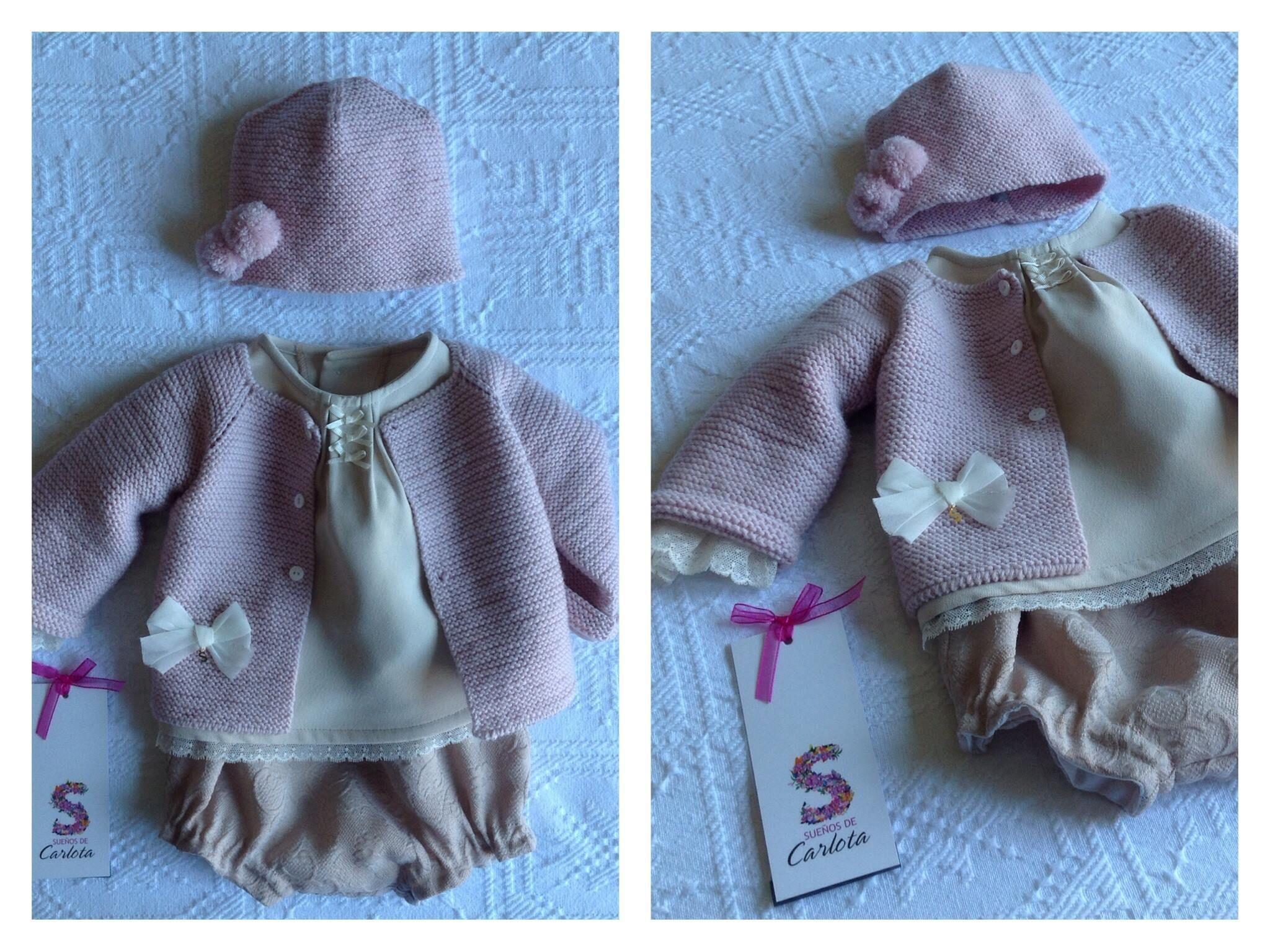 Nuestros Minisueños de ensueño, en tonos empolvados. By Sueños de Carlota http://www.xn--sueosdecarlota-snb.com/coleccion-minisuenos.php #moda #fashion #fashionkids